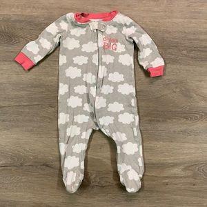 Dream big baby girl onesie